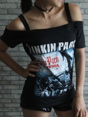 Linkin Park Heavy Metal Rock DIY Sexy Tee Tank Top Shirt