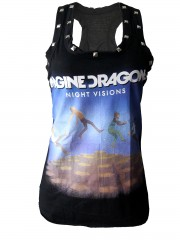 Imagine dragons Metal Rock DIY Racerback Tank Top Shirt