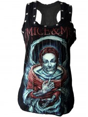 Of Mice & Men Metal Rock DIY Racerback Tank Top Shirt
