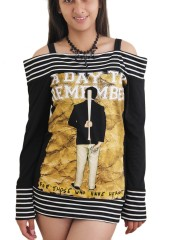 A Day To Remember Metal Punk Rock DIY Funky Boat Neck Top Shirt
