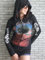 Opeth Goth Metal Rock DIY Slim Fit Hoodie Top
