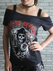 son of anarchy  Metal Rock DIY Sexy Tee Tank Top Shirt