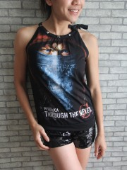 Metallica Metal Rock DIY Tie Neck Sleeveless TankTop