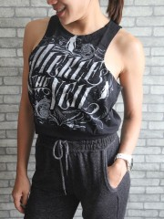 Pierce The Veil  Metal Rock DIY Sport Belly Jumper Tank Top T-Shirt