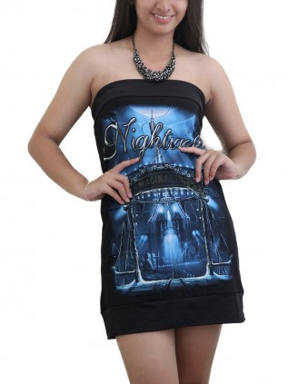 Nightwish Goth Metal Rock DIY Sexy Tube Tank Tunic Top