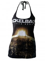 Nickelback Metal Rock DIY Sexy Halter Tank Top Shirt