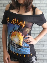 Def Leppard Heavy Rock DIY Sexy Tee Tank Top Shirt