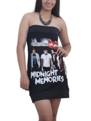 One Direction Pop Dance Metal Rock DIY Sexy Tube Tank Tunic Top