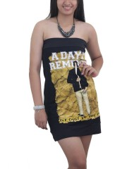 A Day To Remember Metal Punk Rock DIY Sexy Tube Tank Tunic Top