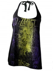 Led Zeppelin Metal Rock DIY Sexy Halter Tank Top Shirt