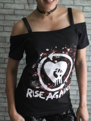 Rise Against Metal Rock DIY Sexy Tee Tank Top Shirt