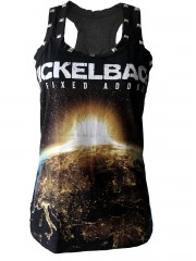 Nickelback Metal Rock DIY Racerback Tank Top Shirt