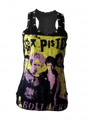 Sex Pistols Punk Rock DIY Racerback Tank Top Shirt