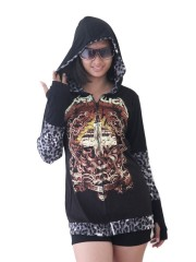 Metallica Metal Rock DIY Funky Zip Hoodie Jacket Top Shirt