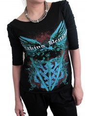 Breaking Benjamin Alternative Metal Rock DIY Princess Sleeve Boat neck Tee Top Shirt