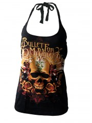 Bullet For My Valentine Metal DIY Sexy Halter Top Shirt