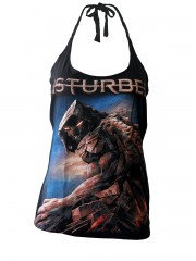Disturbed Hard Metal Rock   DIY Sexy Halter Tank Top Shirt
