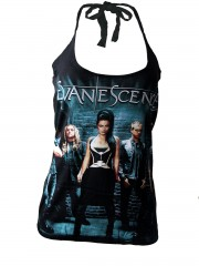 Evanescence Goth Metal Rock DIY Sexy Halter Tank Top Shirt