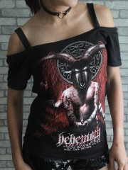 Behemoth Death Metal Rock DIY Sexy Tee Tank Top Shirt
