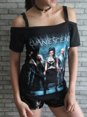 Evanescence Goth Metal Rock DIY Sexy Tee Tank Top Shirt