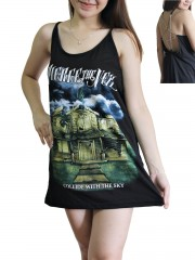 Pierce The Veil Metal Rock Band DIY Pentagram Chain Back Tank Top Tunic