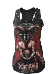 Behemoth Death Metal Rock DIY Racerback Tank Top Shirt