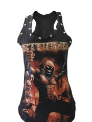 Disturbed Hard Metal Rock  DIY Racerback Tank Top Shirt