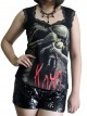 Korn Metal Rock DIY Gothic Pentagon Neckline Tee Top T-Shirt